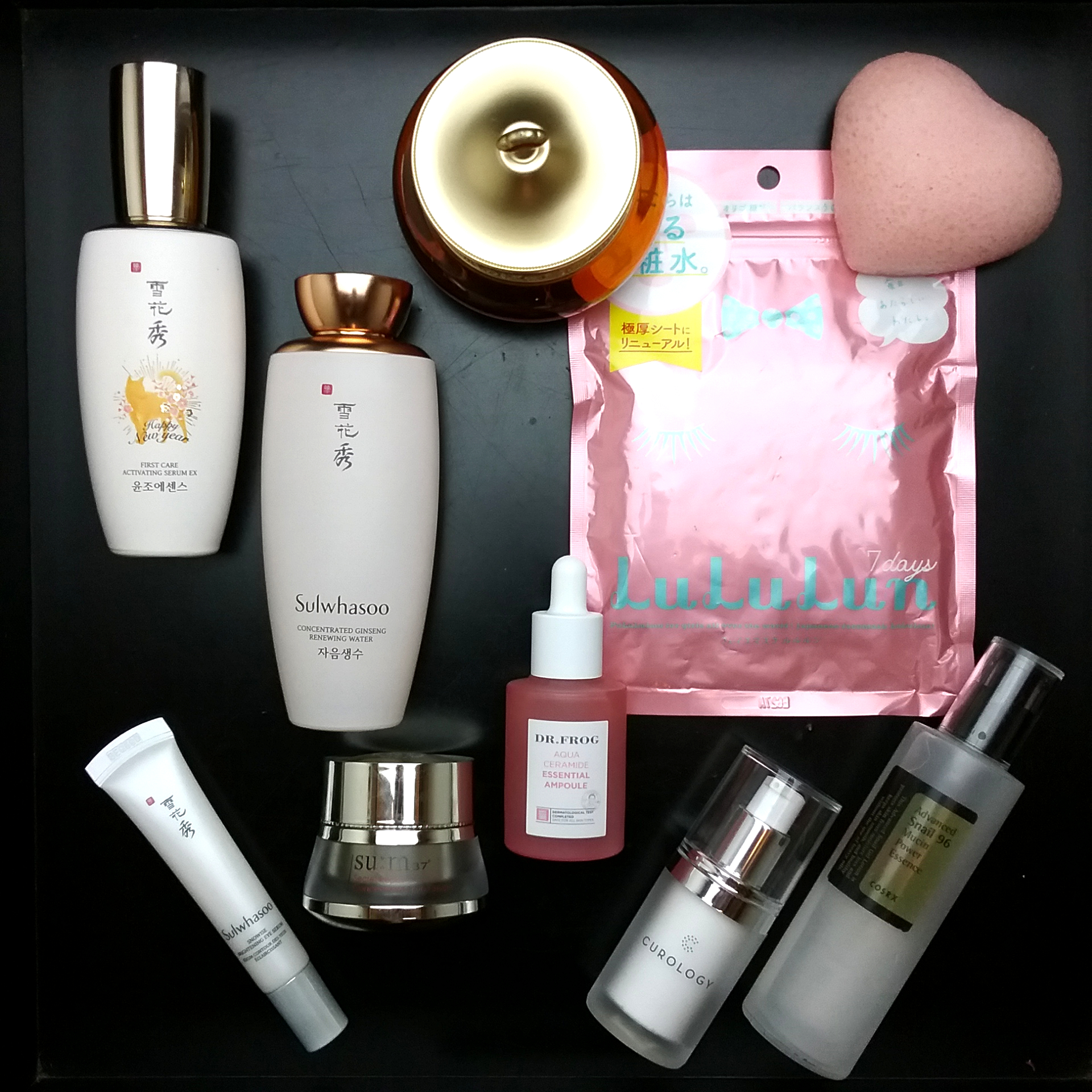 Current Skincare Lineup | Fifty Shades of Snail