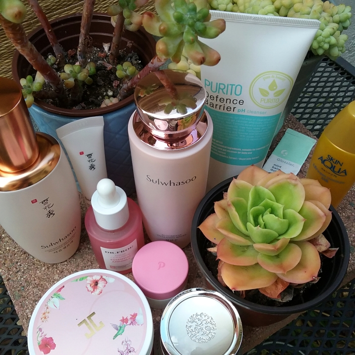 K-beauty morning skincare routine