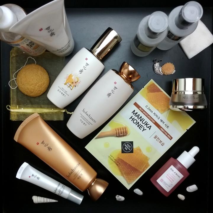 K-beauty skincare routine