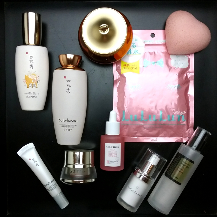 Skincare routine with Curology