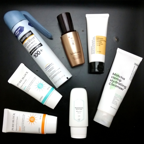 Empty sunscreens and skincare products