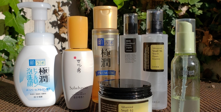Fifty Shades of Snail favorite skincare products