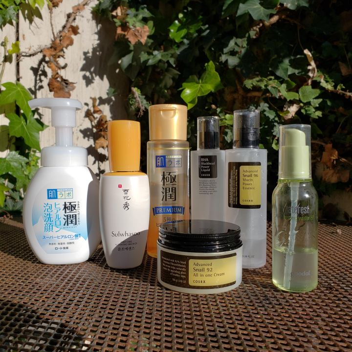 7 best Korean and Japanese skincare products Fifty Shades of Snail