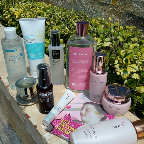 Sample skincare routine Fifty shades of Snail