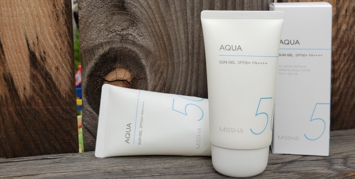Review: Missha All Around Safe Block Aqua Sun Gel SPF 50+ PA++++