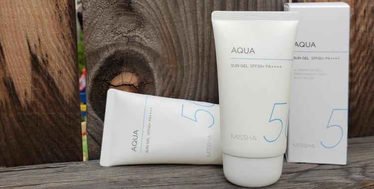 Review of Missha All Around Safe Block Aqua Sun Gel