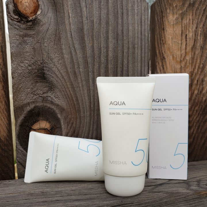 Review of Missha All Around Safe Block Aqua Sun Gel sunscreen