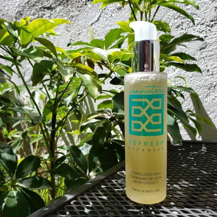 Cannatera Refresh Cleanser bottle