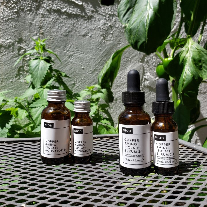 Size comparison of NIOD CAIS2 in 15mL and 30mL