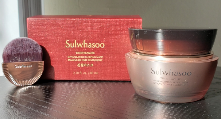 Review: Sulwhasoo Timetreasure Invigorating Sleeping Mask