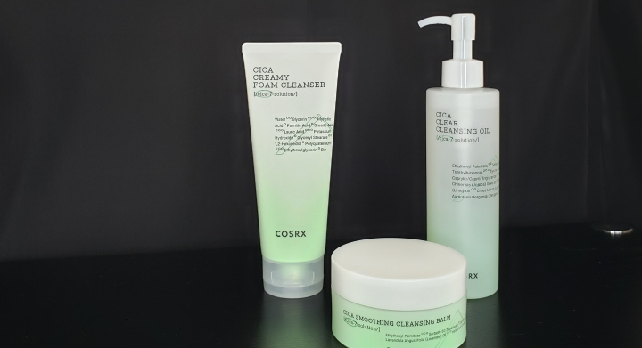 Review: New COSRX Cica Foam Cleanser, Cleansing Balm, and CleansingOil